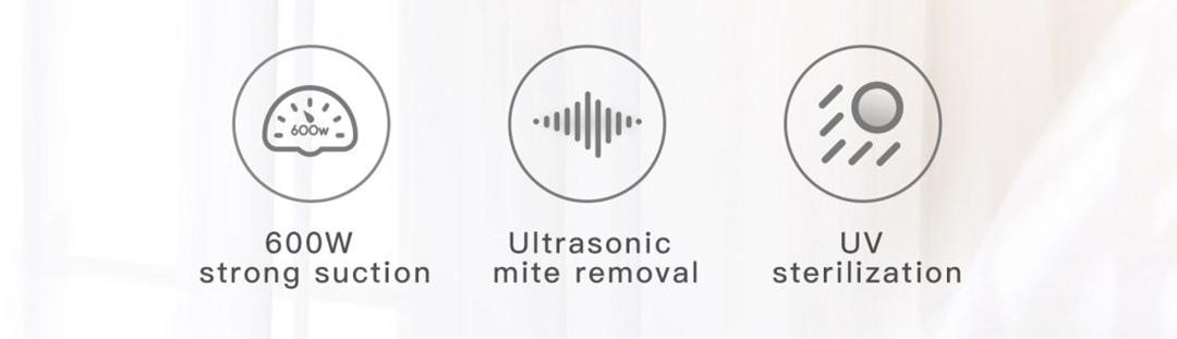 Jimmy Anti-Mite Ultrasonic Vacuum Cleaner WB55