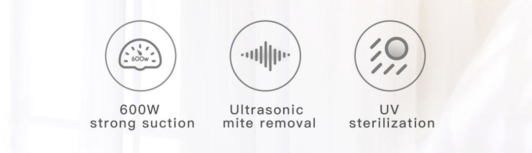 Xiaomi Jimmy Anti-Mite Ultrasonic Vacuum Cleaner WB55