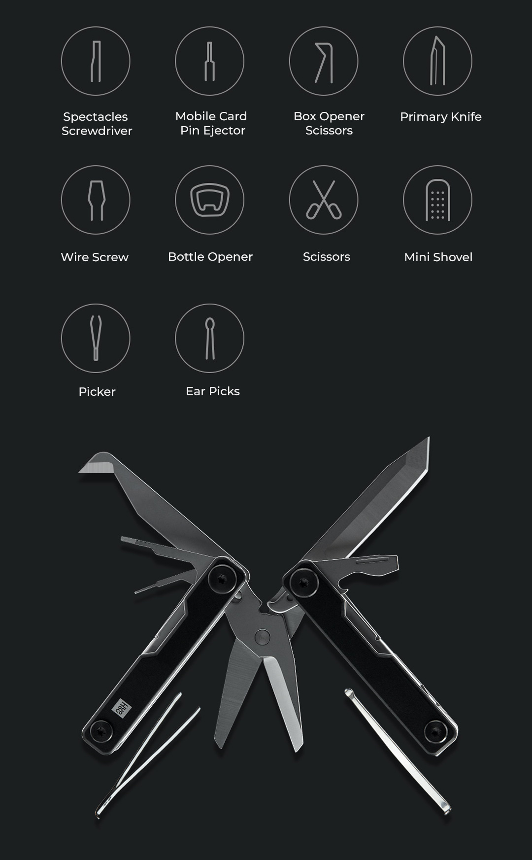 Xiaomi HuoHou Mini Multi-Function Knife