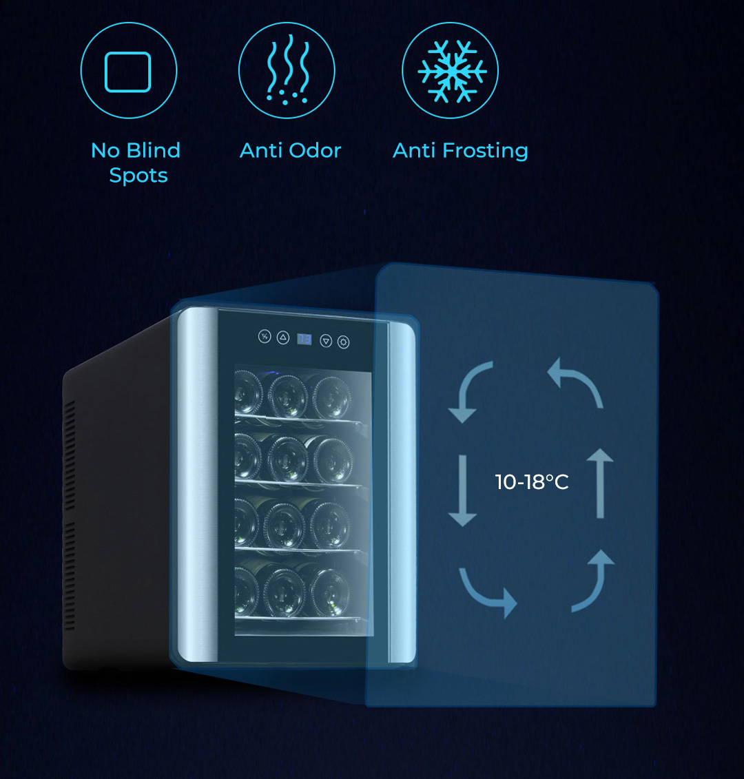 Renmaz Constant Temperature Wine Cooler Mini Edition