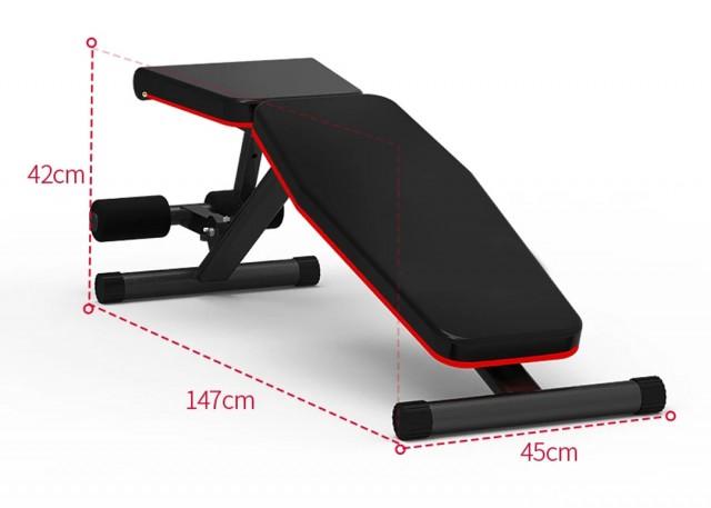 Dontz Foldable Workout Bench