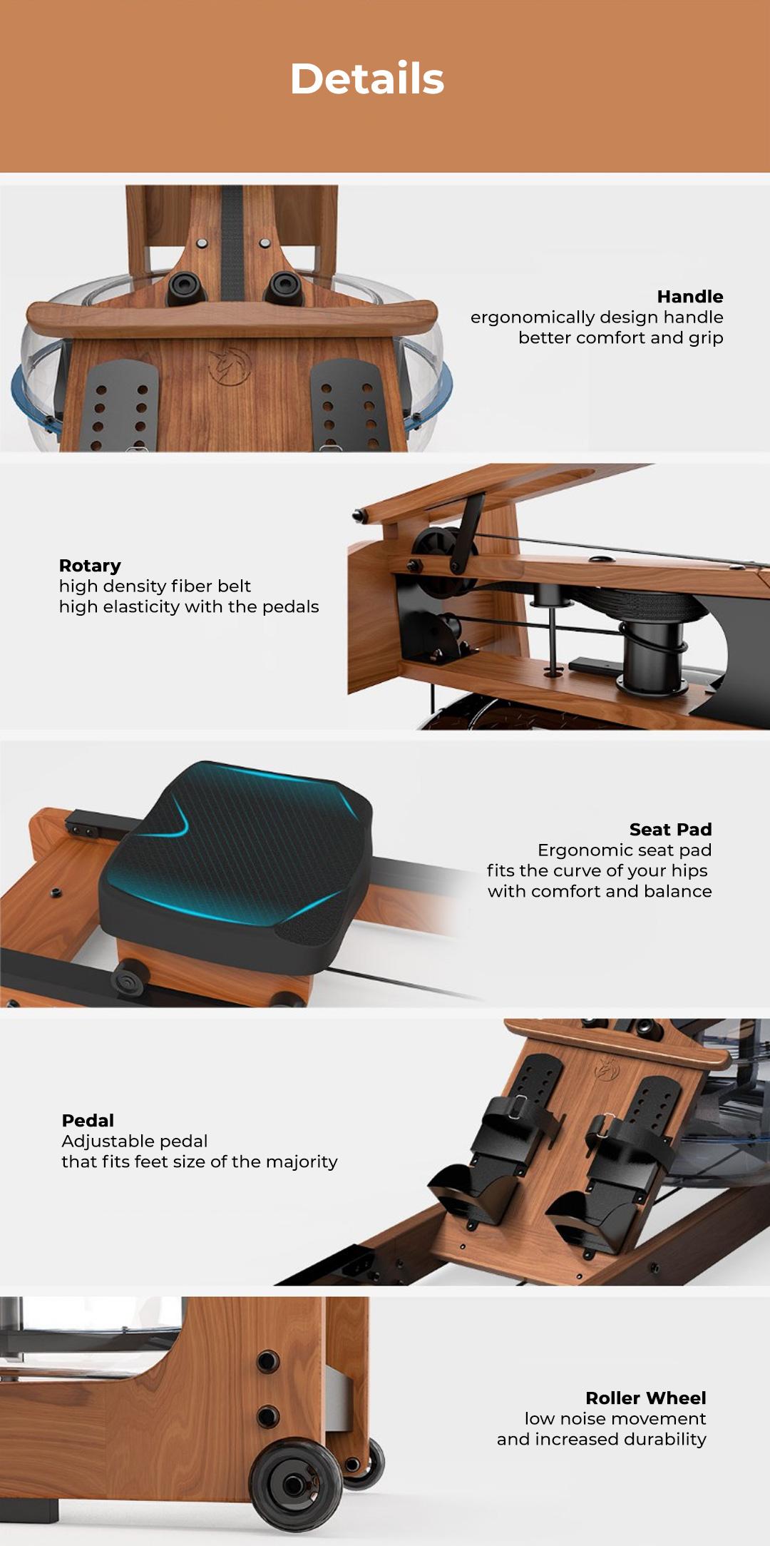 Yesoul Smart Foldable Rowing Machine R30